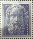 Sellos del Mundo : Europa : Grecia : Intercambio 0,20 usd  300 d. 1954