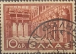 Sellos de Europa - Grecia -  Intercambio 0,20 usd  10 d. 1937