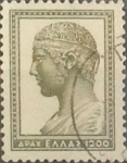 Sellos del Mundo : Europa : Grecia : Intercambio 0,20  usd  1200 d. 1954