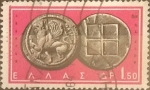 Sellos del Mundo : Europa : Grecia : Intercambio 0,20  usd  1,50 d. 1963