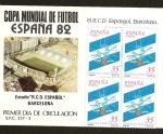 Stamps Spain -  Fútbol -Centº R.C.D. Espanyol - en SPD antigüo estadio de Sarría