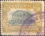 Stamps : Europe : Guatemala :  Intercambio 0,20  usd  6 cents. 1902