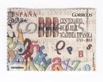 Sellos del Mundo : Europa : España : III Centenario de la Real Academia Española