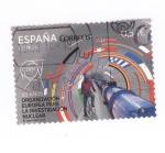 Sellos de Europa - España -  60 años de la organización europea para la investigación nuclear
