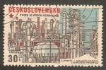 Stamps Czechoslovakia -  2128 - Química de Slovnaft
