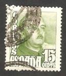 Sellos de Europa - España -   1021 - General Franco