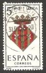Sellos de Europa - España -  1554 - Escudo de la provincia de Lérida