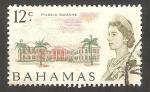 Stamps Bahamas -  249 - Elizabeth II, jardín público