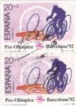 Stamps Spain -  Pre-olímpica Barcelona'92  (20)