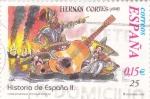 Stamps Spain -  historia de España II (20)