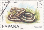 Stamps Spain -  vibora (20)