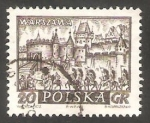Stamps Poland -  1054 - Ciudad de Varsovia