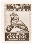 Stamps Spain -  cortes constituyentes (20)
