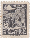 Sellos de Europa - España -  ayuntamiento de Barcelona (20)