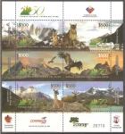 Stamps Chile -  PARQUE  NACIONAL  TORRES  DEL  PAINE