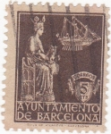 Stamps : Europe : Spain :  ayuntamiento de Barcelona (20)
