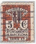 Stamps of the world : Spain :  ayuntamiento de Barcelona (20)