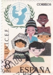 Stamps Spain -  Unicef (20)