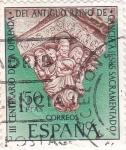 Stamps : Europe : Spain :  III centenario de la ofrenda (20)