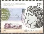 Stamps Argentina -  50th  ANIVERSARIO  DE  LA  FEDERACIÒN  FILATÈLICA  ARGENTINA
