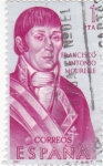 Stamps of the world : Spain :  Francisco Antonio Mourelle-forjadores (20)