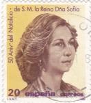 Stamps Spain -  reina Sofía (20)
