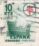 Sellos de Europa - España -  pro-tuberculosos (20)