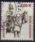 Sellos de Europa - Alemania -  ALEMANIA 2003 Michel 2314 SELLO SERIE BASICA STUTTGART CABALLO USADO