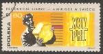 Sellos de Europa - Polonia -  1787 - 25 anivº de la República Popular, Azúfre