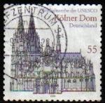 Sellos de Europa - Alemania -  ALEMANIA 2003 Michel 2329 Sello Unesco Catedral Koln Usado