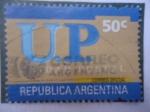 Sellos de America - Argentina -  U.P.Unidad Postal.