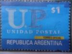 Stamps Argentina -  U.P.Unidad Postal