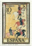 Stamps of the world : Spain :  CÓDICES. BEATO DE BURGO DE OSMA (SORIA). EDIFIL 2290