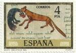 Stamps of the world : Spain :  CÓDICES. BEATO DE FERNANDO Y SANCHA, BIBLIOTECA NACIONAL. EDIFIL 2287