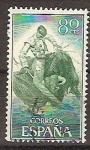 Sellos de Europa - España -  ESPAÑA SEGUNDO CENTENARIO USD Nº 1260 (0) 80C VERDE Y VERDE CLARO TAUROMAQUIA