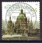 Sellos del Mundo : Europa : Alemania : ALEMANIA 2006 Scott 2328 Sello º 1000 Aniversario Catedral Berlin 95 Michel 2445 Allemagne Duitsland