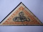 Sellos de Africa - Liberia -  Serpiente (Monrovia)-(Serie de 5 sello)