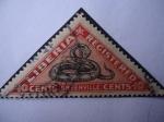 Stamps : Africa : Liberia :  Serpiente (Greenville)-(Serie de 5 sellos)