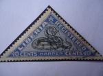 Stamps : Africa : Liberia :  Serpiente (Harper)-(Serie de 5 sellos