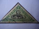 Stamps : Africa : Liberia :  Serpiente (Robertsport)-(Serie de 5 sellos)