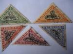 Stamps Liberia -  Serpientes. (Serie de 5 Sellos)