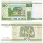 monedas de Europa - Bielorrusia -  Edificio de la Academia Nacional, Gran Ópera y Ballet de Minsk - Escena del ballet