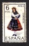 Sellos de Europa - España -  Trajes Típicos Españoles
