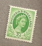 Stamps Africa - Zimbabwe -  Reina Isabel