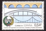 Stamps Spain -  Cuerpo de Ingeníeros de Caminos, Canales y Puertos del Estado
