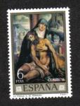 Stamps Spain -  Día del Sello. Luis de Morales