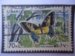 Stamps Lebanon -  Machaon -(Poste Aerienne)