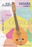 Sellos de Europa - España -  LAUD-instrumentos musicales (20)