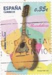 Sellos de Europa - España -  MANDOLINA-instrumentos musicales (20)
