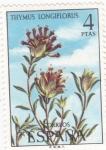 Sellos de Europa - España -  flora- Thymus longiflorus (20)